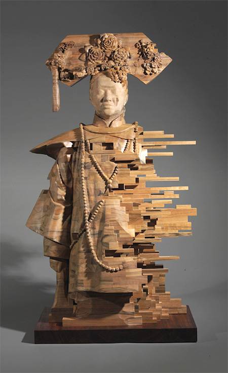 Hsu Tung Han Wooden Sculpture