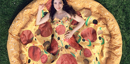 Pizza Dress