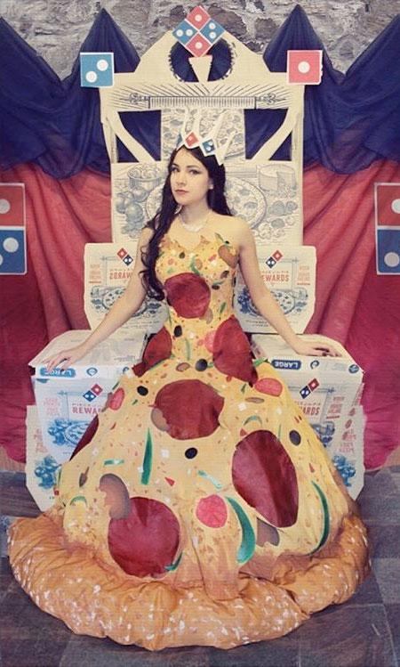Avant-Geek Pizza Dress