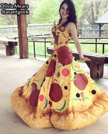 Olivia Mears Pizza Dress