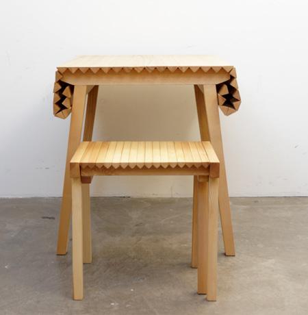 Nathalie Dackelid Wooden Cloth