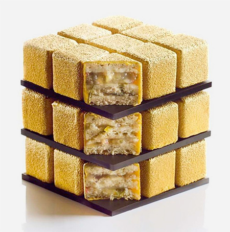 Cedric Grolet Rubiks Cube Cakes