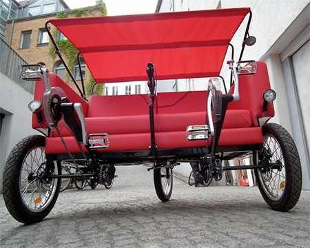 Couch Bicycle