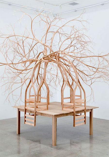 Pontus Willfors Tree Chairs