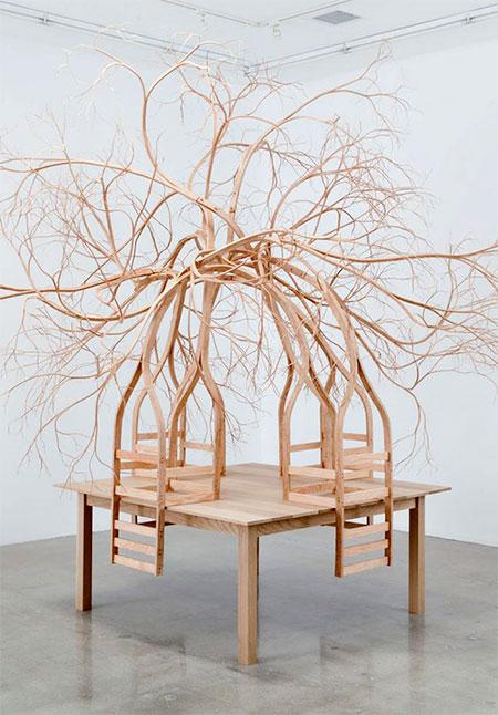 Pontus Willfors Tree Chairs