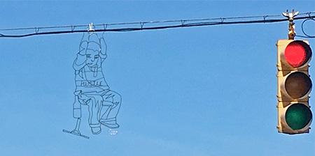 The Wire Street Art
