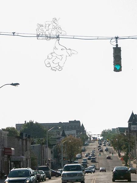 Baltimore Wire Street Art