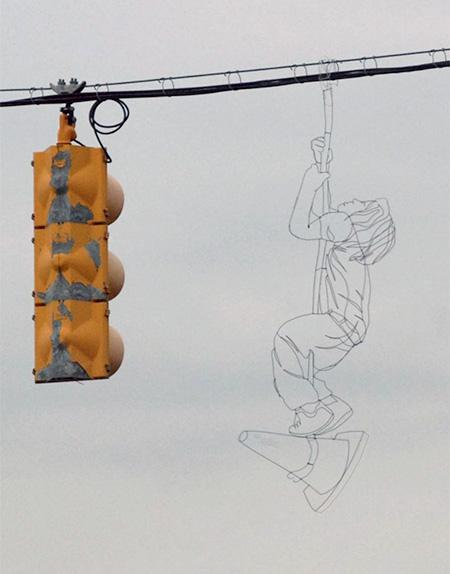 Reed Bmore Wire Street Art