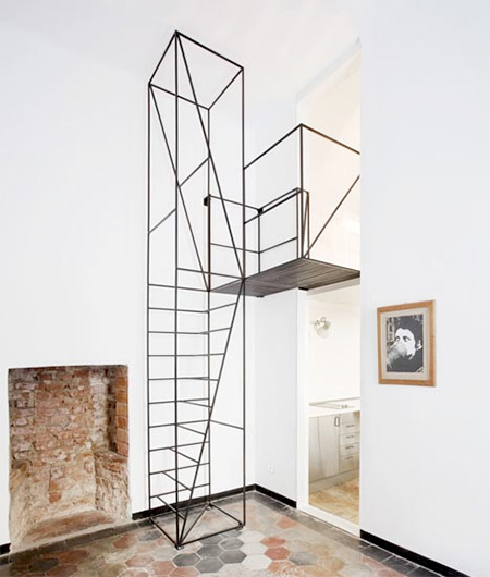Francesco Librizzi Wireframe Staircase