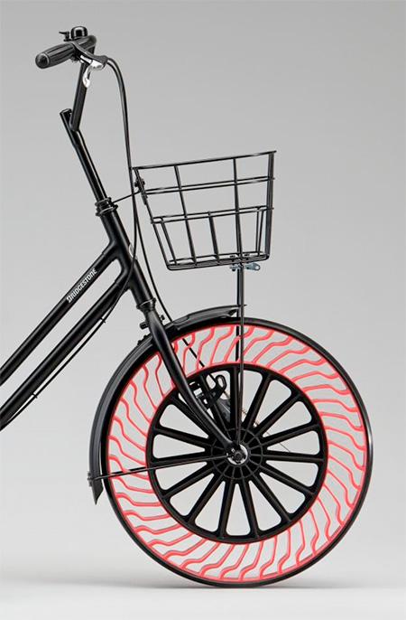 Bridgestone Airless Bicycle Tire