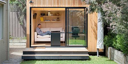Backyard Room