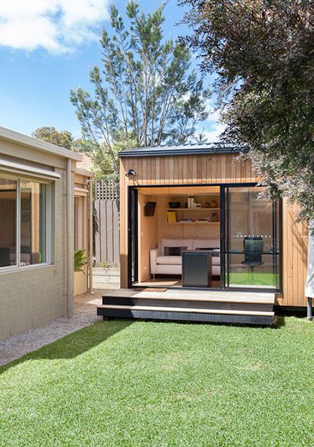 Modern Backyard Room