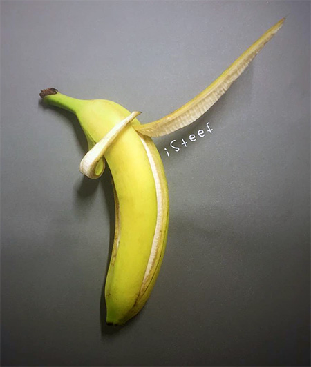 Banana Art by iSteef