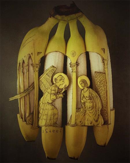 Instagram Banana Carving