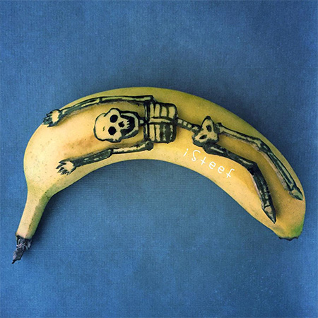 Banana Carvings