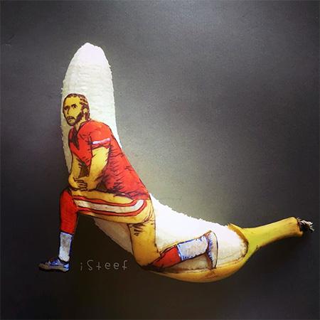 Creative Banana Carving