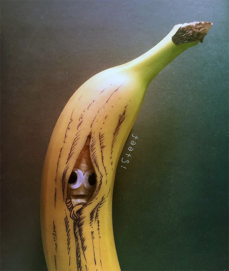 Creative Banana Art