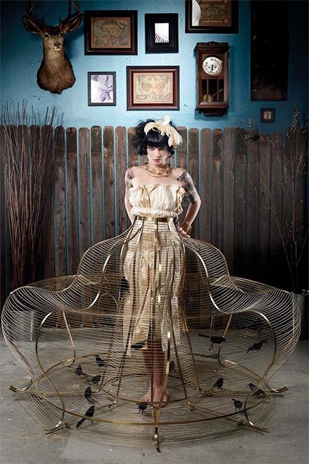 Bird Cage Dress