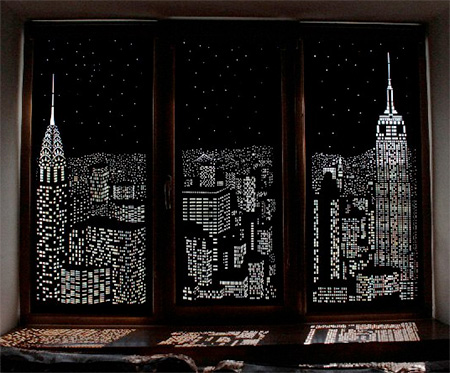 Night City Curtains