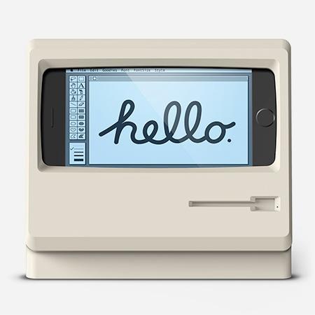 iPhone Stand Macintosh