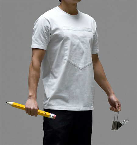 Large Pocket Tshirt