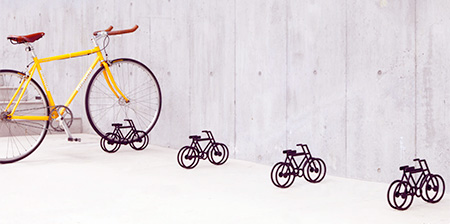Miniature Bicycle Stand