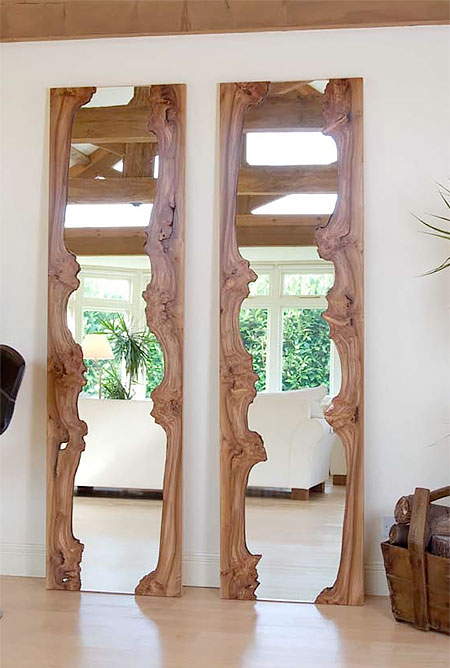 Wooden River Mirrors