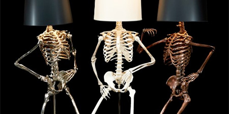 Skeleton Lamps