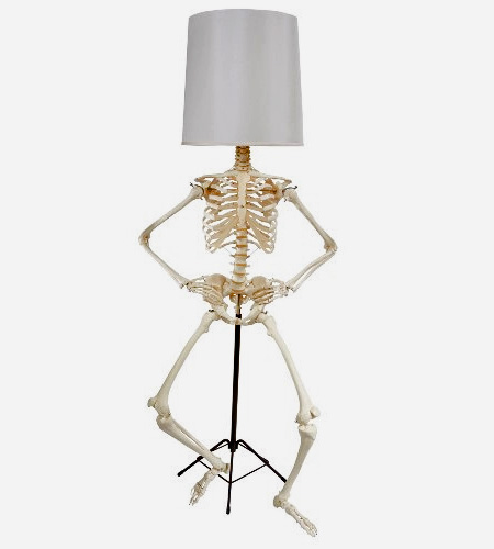 Human Skeleton Lamp