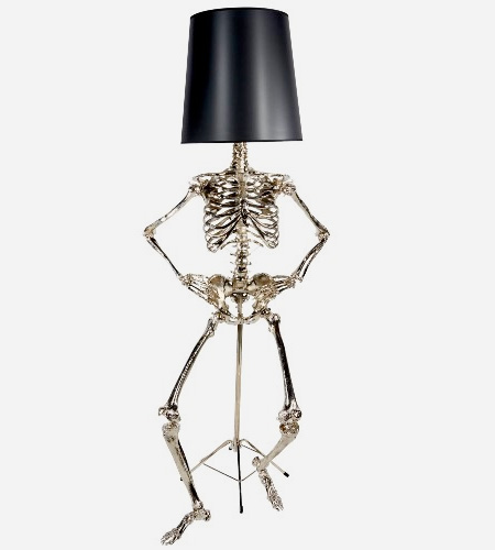 Zia Priven Skeleton Lamp