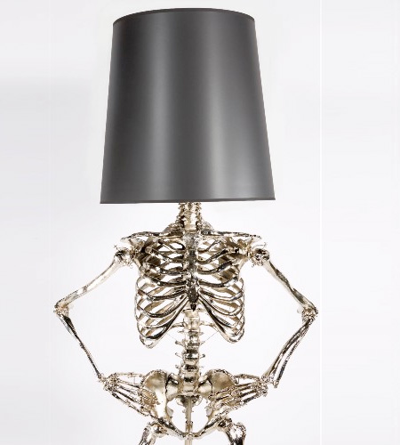 Zia Priven Skeleton Lamps