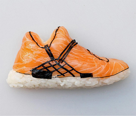 Yujia Hu Sushi Shoes