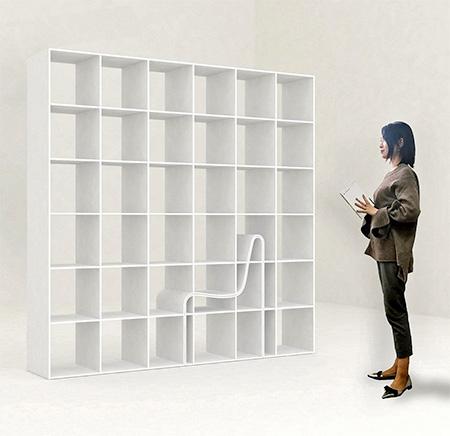 Alias Design Bookchair