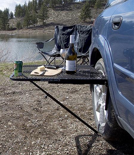 Car Picnic Table