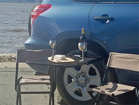 TailGate Tire Table
