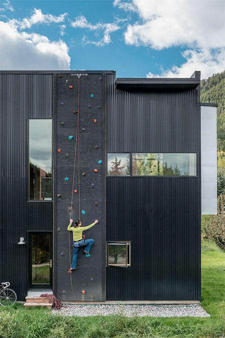 Carney Logan Burke Climbing Wall House