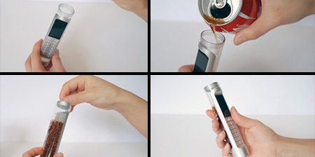 Coca-Cola Powered Phone