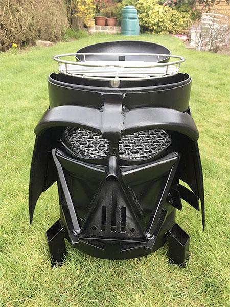 Darth Vader BBQ Grill