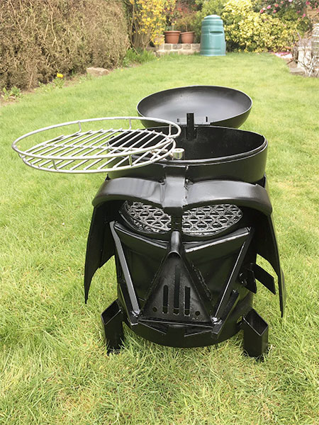 Darth Vader Barbecue Grill