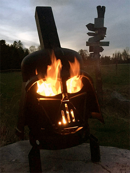 Star Wars Barbecue Grill
