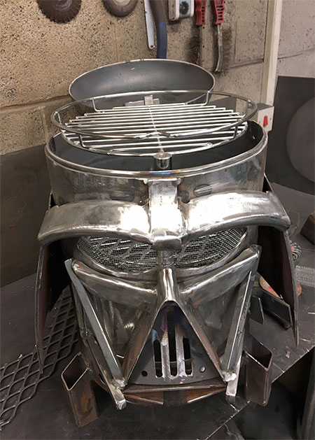 Burned By Design Darth Vader Grill