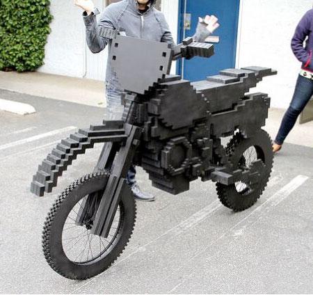 Pixel Motorcycle