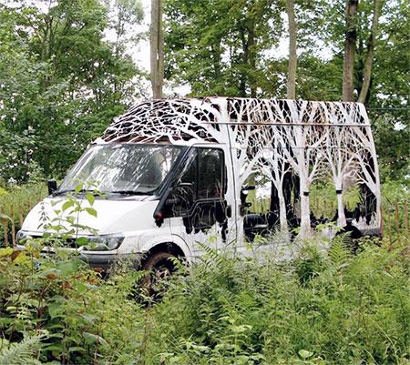 Dan Rawlings Forest Van