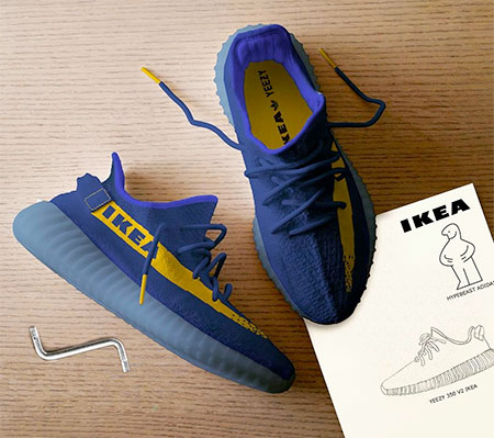 Yeezy IKEA Shoes