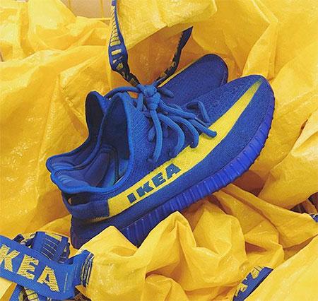 Kanye West IKEA Shoes