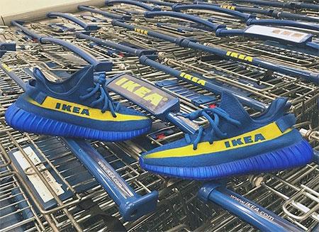 Yeezys IKEA Shoes