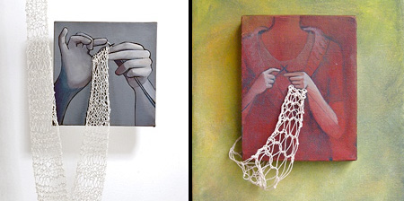 Knitting Paintings
