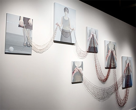 Knit Paintings