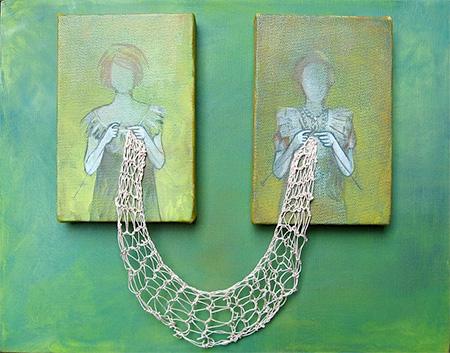 Rania Hassan Knitting