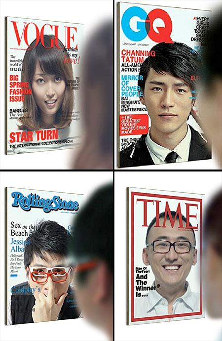 Magazine Cover Mirror
